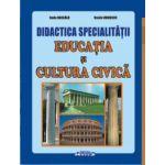 Didactica specialităţii educaţia şi cultura civică