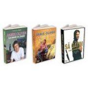 Jamie Oliver - Toate cele 3 cărți ale lui Jamie