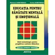 Educația pentru sănătate mentală și emoțională
