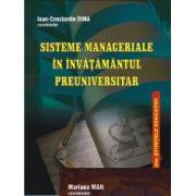 Sisteme manageriale în învățământul preuniversitar