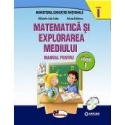 Matematica si explorarea mediului. Manual pentru clasa I, partea I+partea a II-a(contine editie digitala) Anina Badescu