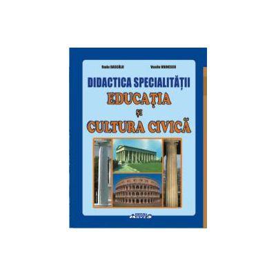 Didactica specialității educația și cultura civică